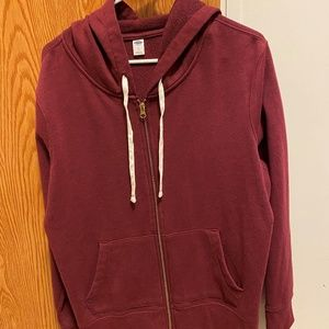 Old Navy zip up hooded sweatshirt XL women NWOT